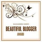 'Beautiful Blogger Award'!